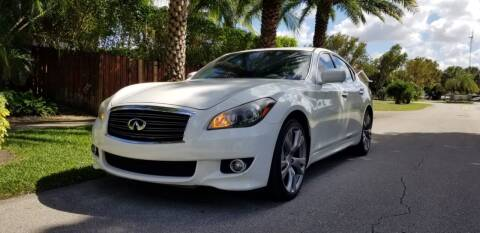 2013 Infiniti M37 for sale at HIGH PERFORMANCE MOTORS in Hollywood FL