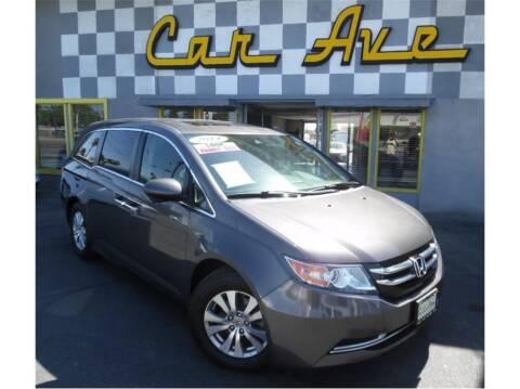 2014 Honda Odyssey for sale at Car Ave in Fresno CA