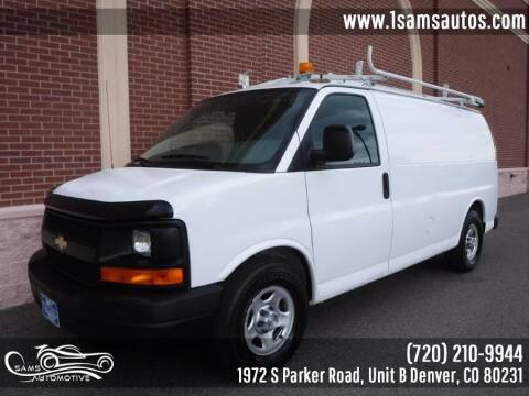 2008 Chevrolet Express Cargo for sale at SAM'S AUTOMOTIVE in Denver CO