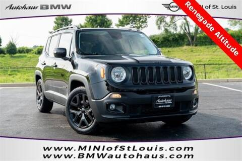 2017 Jeep Renegade for sale at Autohaus Group of St. Louis MO - 40 Sunnen Drive Lot in Saint Louis MO