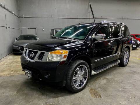 2012 Nissan Armada for sale at EA Motorgroup in Austin TX