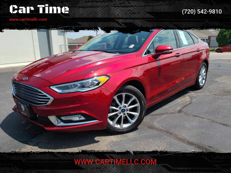 2017 Ford Fusion for sale at Car Time in Denver CO