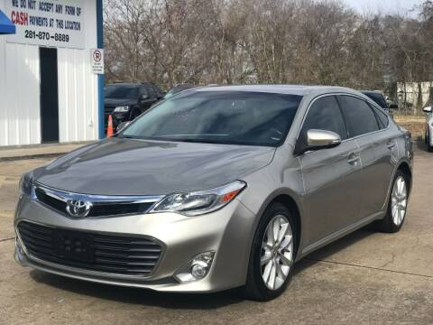 2014 Toyota Avalon for sale at Discount Auto Company in Houston TX