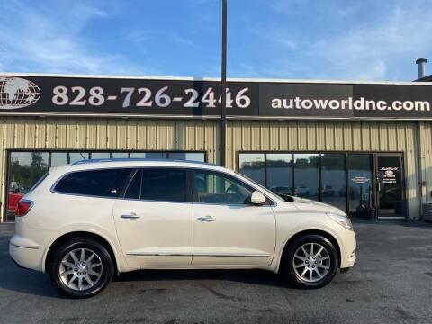 2014 Buick Enclave for sale at AutoWorld of Lenoir in Lenoir NC