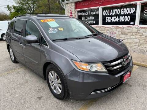 2014 Honda Odyssey for sale at GOL Auto Group in Austin TX