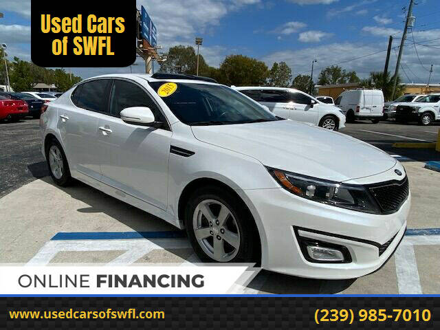 2015 Kia Optima for sale at Used Cars of SWFL in Fort Myers FL
