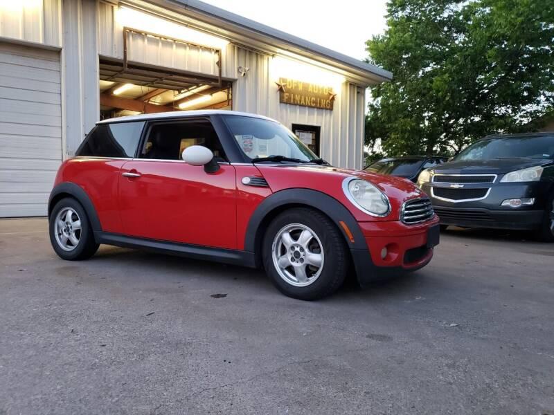 2009 MINI Cooper for sale at DFW AUTO FINANCING LLC in Dallas TX