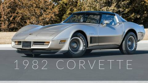 1982 Chevrolet Corvette for sale at Great Lakes Classic Cars & Detail Shop in Hilton NY