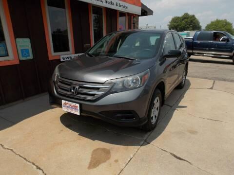 2014 Honda CR-V for sale at Autoland in Cedar Rapids IA