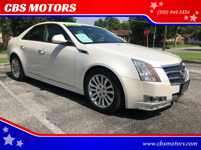 2011 Cadillac CTS for sale at CBS MOTORS in San Antonio TX