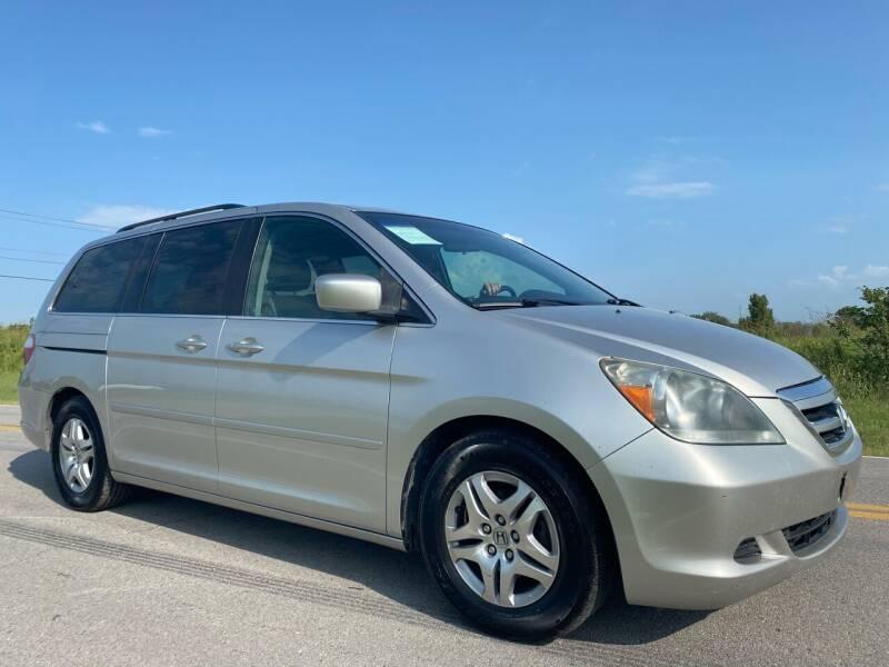 2007 Honda Odyssey for sale at ILUVCHEAPCARS.COM in Tulsa OK