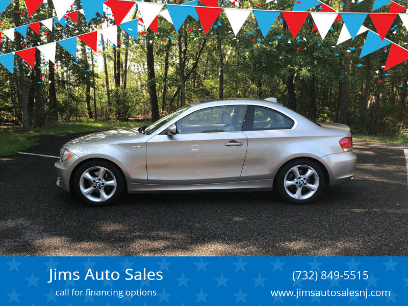 2010 BMW 1 Series for sale at Jims Auto Sales in Lakehurst NJ