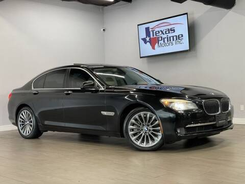 2011 BMW 7 Series for sale at Texas Prime Motors in Houston TX