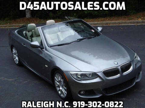 2011 BMW 3 Series for sale at D45 Auto Brokers in Raleigh NC