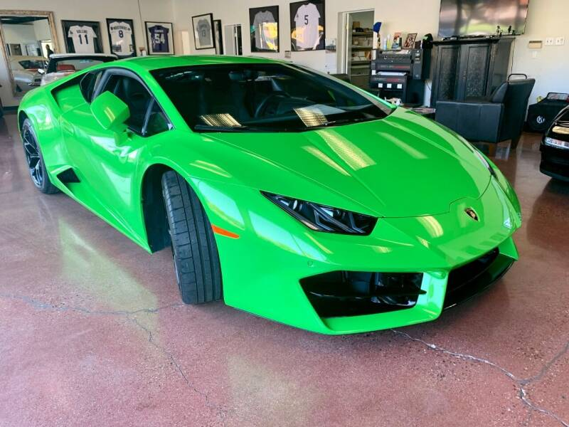 2019 Lamborghini Huracan for sale at Allen Motors, Inc. in Thousand Oaks CA