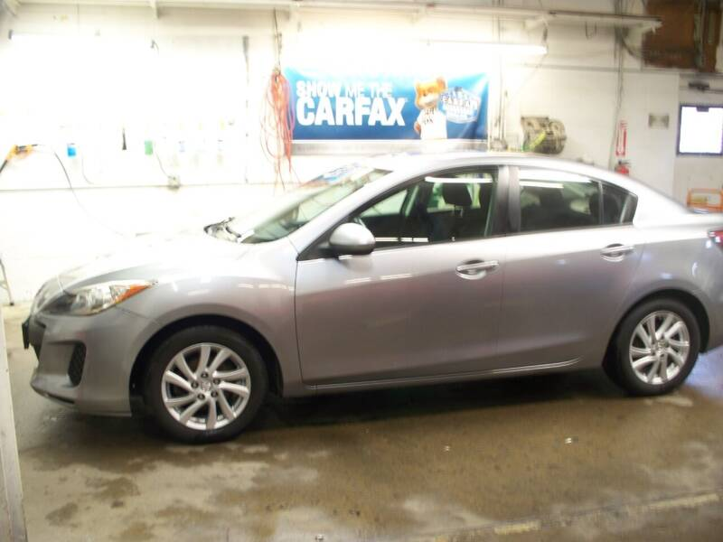 2012 Mazda MAZDA3 for sale at North Metro Auto Sales in Cambridge MN