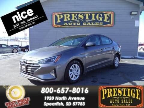 2020 Hyundai Elantra for sale at PRESTIGE AUTO SALES in Spearfish SD