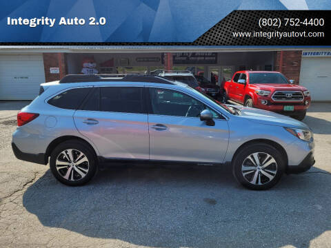 2019 Subaru Outback for sale at Integrity Auto 2.0 in Saint Albans VT