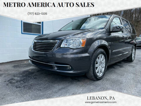 2015 Chrysler Town and Country for sale at METRO AMERICA AUTO SALES of Lebanon in Lebanon PA