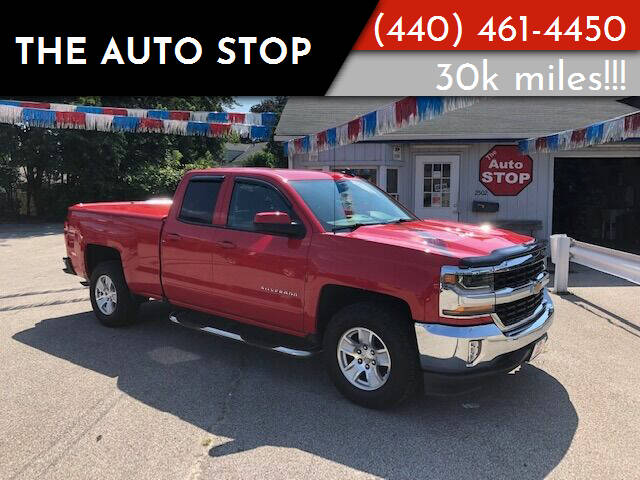 2016 Chevrolet Silverado 1500 for sale at The Auto Stop in Painesville OH