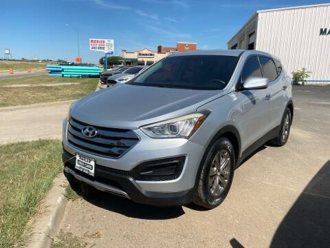 2014 Hyundai Santa Fe Sport for sale at MARLER USED CARS in Gainesville TX