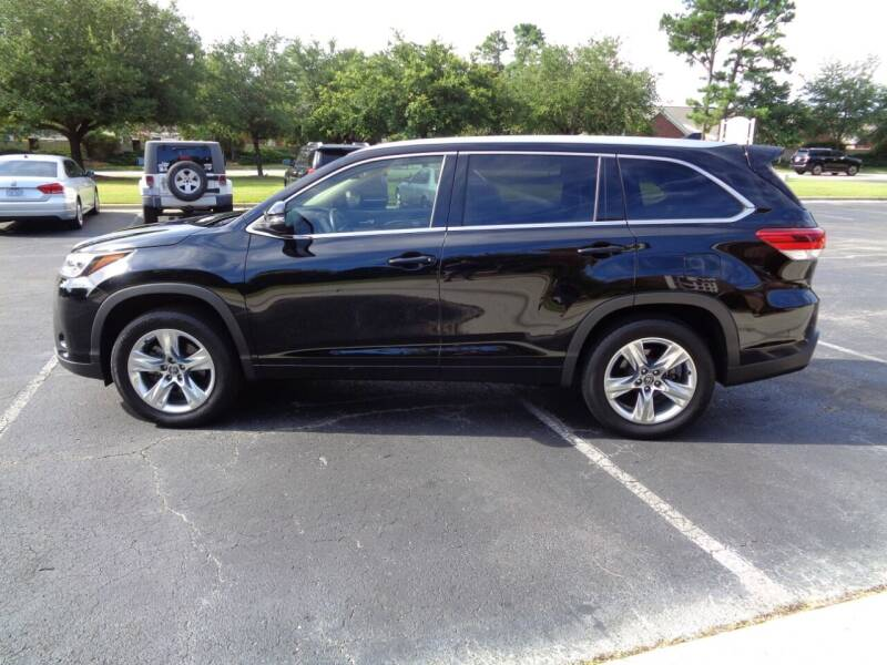 2018 Toyota Highlander for sale at BALKCUM AUTO INC in Wilmington NC
