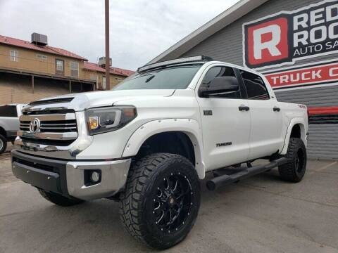 2017 Toyota Tundra for sale at Red Rock Auto Sales in Saint George UT