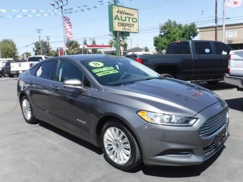 2013 Ford Fusion Hybrid for sale at HILMAR AUTO DEPOT INC. in Hilmar CA