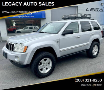 2005 Jeep Grand Cherokee for sale at LEGACY AUTO SALES in Boise ID
