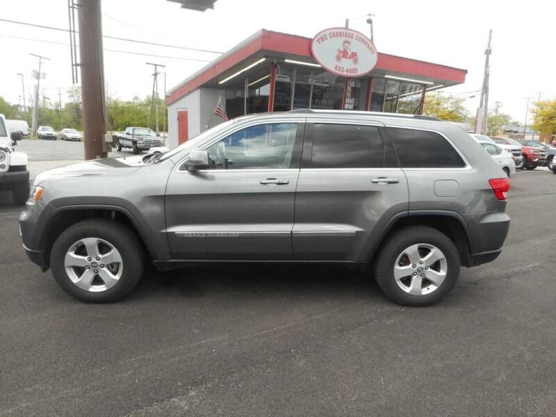 2012 Jeep Grand Cherokee for sale at The Carriage Company in Lancaster OH