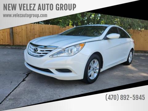 2011 Hyundai Sonata for sale at NEW VELEZ AUTO GROUP in Gainesville GA