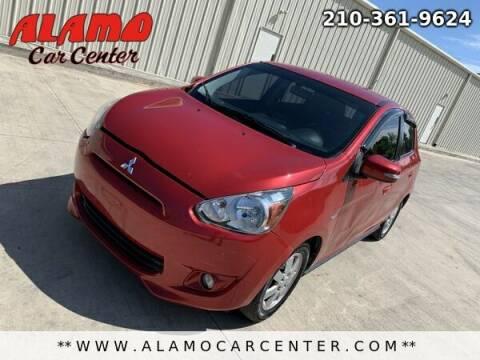 2015 Mitsubishi Mirage for sale at Alamo Car Center in San Antonio TX