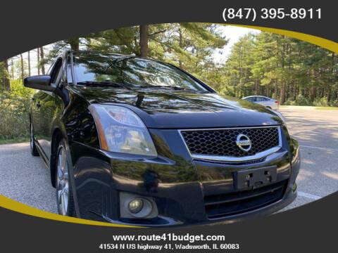 2012 Nissan Sentra for sale at Route 41 Budget Auto in Wadsworth IL