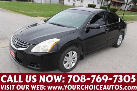 2012 Nissan Altima for sale at Your Choice Autos in Posen IL