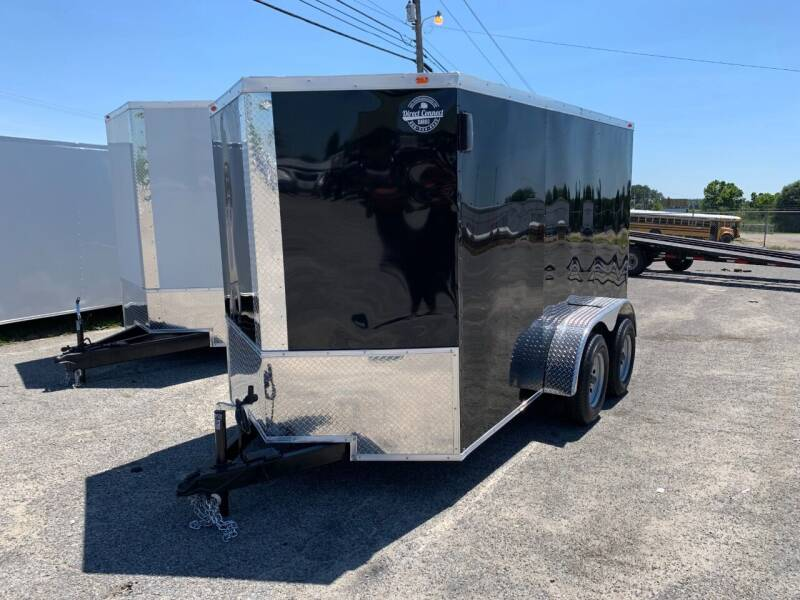2021 6x12 Tandem Axle Enclosed Cargo Trailer for sale at Direct Connect Cargo in Tifton GA