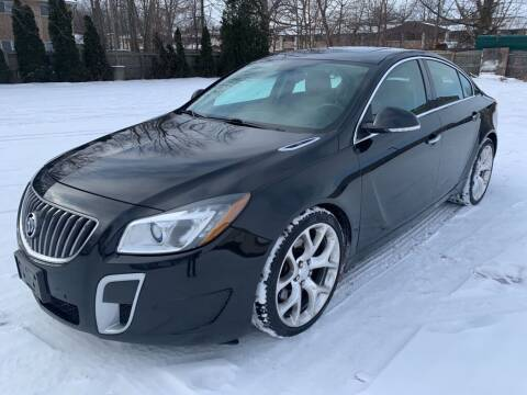 2012 Buick Regal for sale at TKP Auto Sales in Eastlake OH