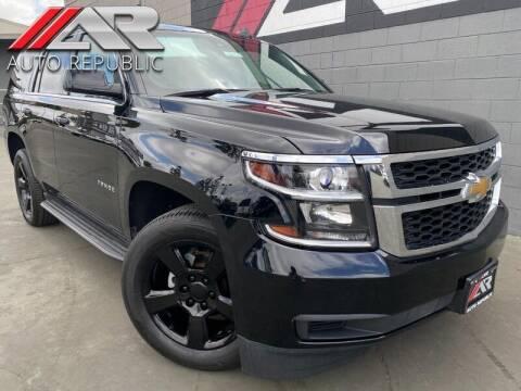 2017 Chevrolet Tahoe for sale at Auto Republic Fullerton in Fullerton CA