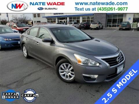2015 Nissan Altima for sale at NATE WADE SUBARU in Salt Lake City UT