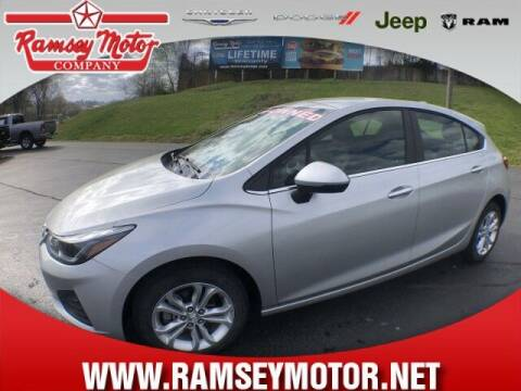 2019 Chevrolet Cruze for sale at RAMSEY MOTOR CO in Harrison AR