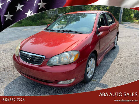 2007 Toyota Corolla for sale at ABA Auto Sales in Bloomington IN