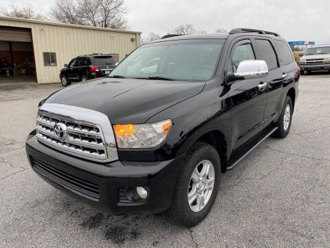 2008 Toyota Sequoia for sale at Brewster Used Cars in Anderson SC
