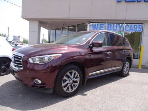 2013 Infiniti JX35 for sale at KING RICHARDS AUTO CENTER in East Providence RI