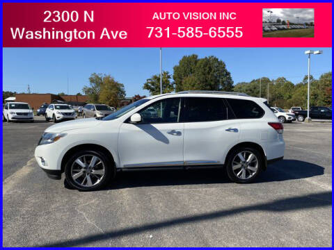 2013 Nissan Pathfinder for sale at Auto Vision Inc. in Brownsville TN