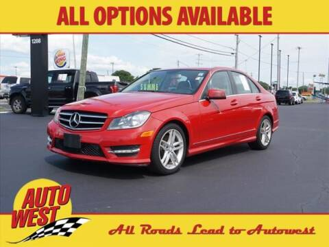 2014 Mercedes-Benz C-Class for sale at Autowest of GR in Grand Rapids MI
