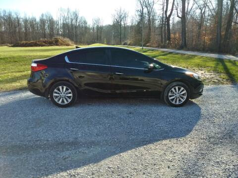 2014 Kia Forte for sale at Doyle's Auto Sales and Service in North Vernon IN