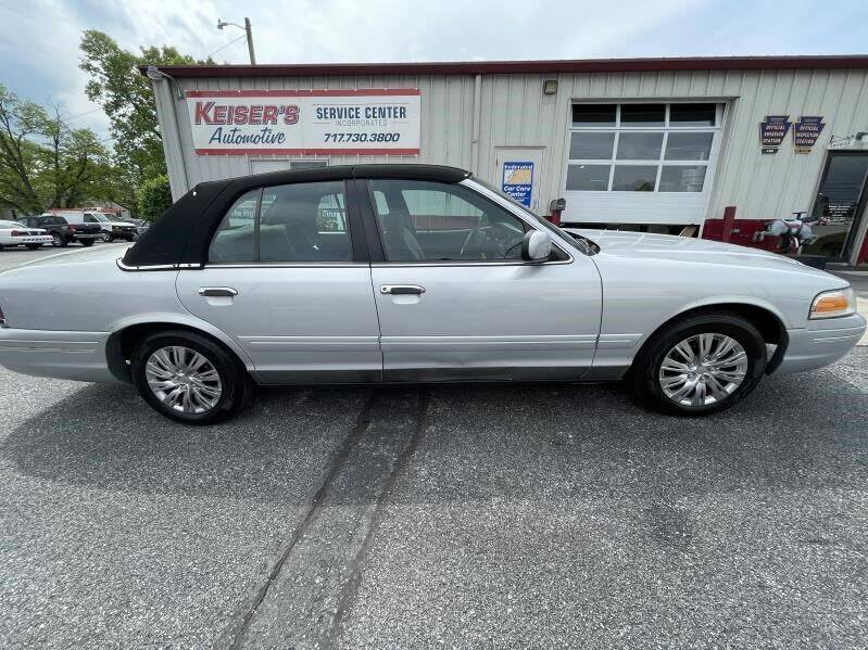 2001 Ford Crown Victoria for sale at Keisers Automotive in Camp Hill PA