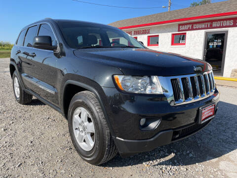 2012 Jeep Grand Cherokee for sale at Sarpy County Motors in Springfield NE
