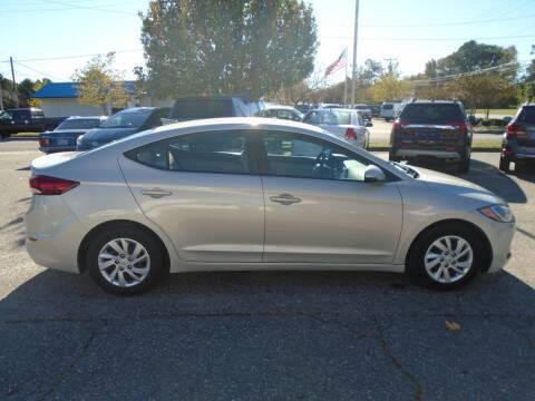 2017 Hyundai Elantra for sale at Premium Auto Brokers in Virginia Beach VA