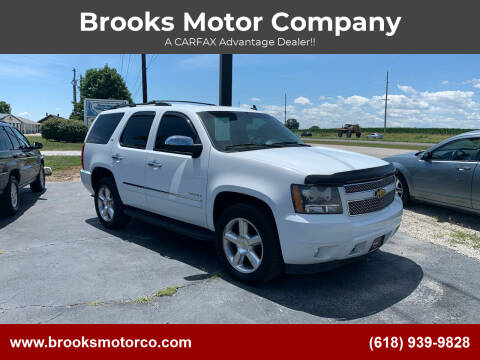 2011 Chevrolet Tahoe for sale at Brooks Motor Company in Columbia IL