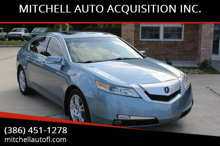 2010 Acura TL for sale at MITCHELL AUTO ACQUISITION INC. in Edgewater FL